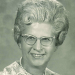 Prof. Betty Wallace Robinett, 1971, University of Minnesota. University of Minnesota Archives Photograph Files