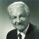Prof. Harold B. Allen, 1965, University of Minnesota. First TESOL President. University of Minnesota Archives Photograph Files