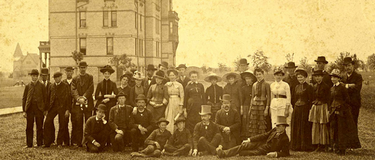 Methodist Founders of Hamline University Picture