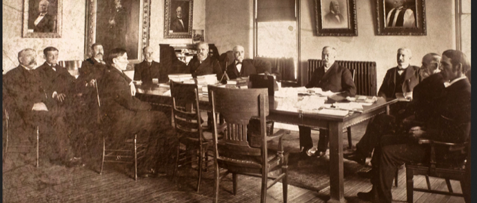 University of Minnesota's First Board of Regents, 1861 Creative Commons picture